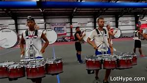 Bluecoats 2016 run but every time they hit a rim shot it ...