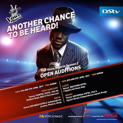However, this compilation is ours. The Voice Nigeria Season 2: 2017 Thread - TV/Movies - Nigeria