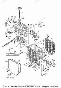 Yamaha Waverunner 2004 Oem Parts Diagram For Oil Cooler