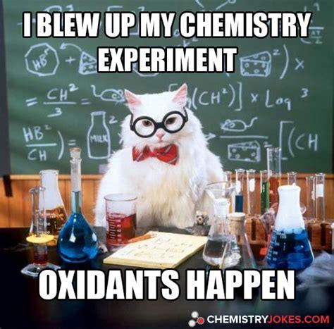 blew   chemistry experiment chemistry jokes