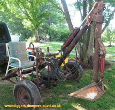 beast homemade digger   homemade tractor