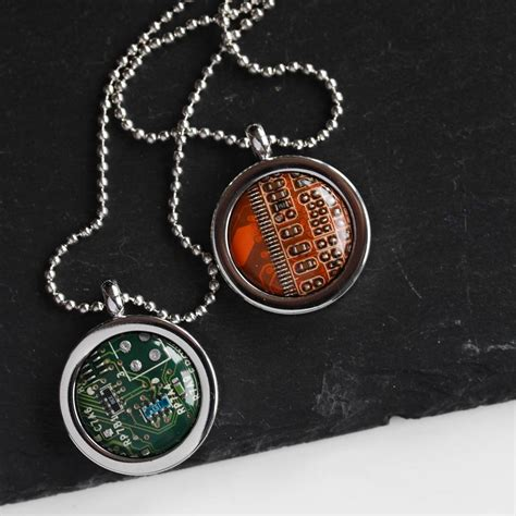 Customize Your Recomputing Keychain Necklace