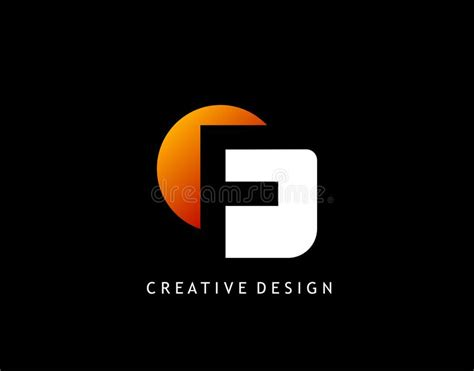 F Letter Creative Negative Space , Design Concept ...