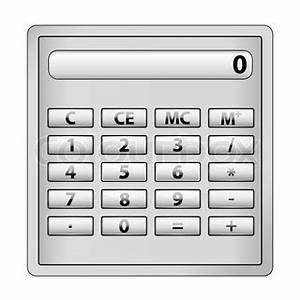 Betrag Vektor Berechnen : darstellung der rechner symbol auf wei em hintergrund ~ Themetempest.com Abrechnung