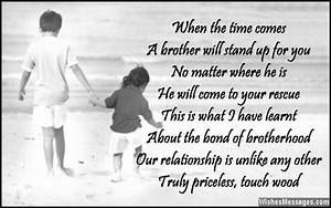 I love you poems for brother – WishesMessages.com