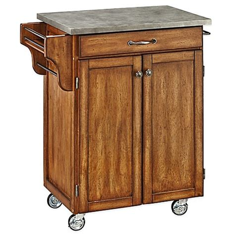 batwing kitchen island home styles cuisine cart with concrete top bed bath beyond 1514