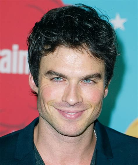 Ian Somerhalder Short Straight Casual Hairstyle