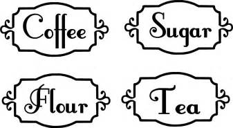 canisters kitchen kitchen canister labels vinyl decals organization by