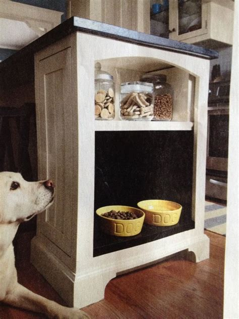 10 X 10 Kitchen Ideas - dog area at the end of a kitchen island kitchen ideas pinterest dog and kitchens