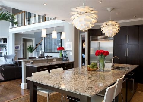 granite top kitchen table ideas