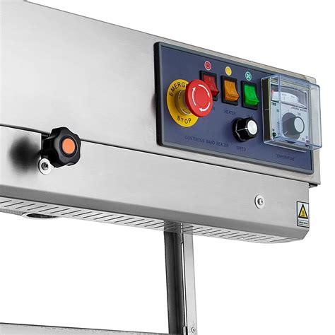 continuous band sealer verticalhorizontal bag sealing machine pe mylar ca local  ebay
