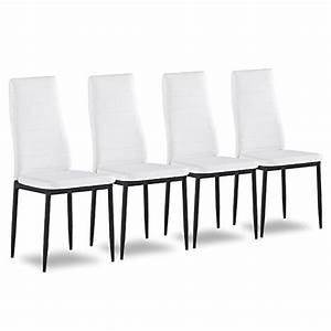 Küchenstühle 4er Set : 4er set esszimmerstuhl k chenst hle polsterstuhl stuhlgruppe wei m bel24 shop xxxl ~ Indierocktalk.com Haus und Dekorationen