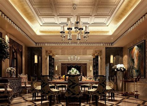 beautiful dining rooms  coffered ceilings