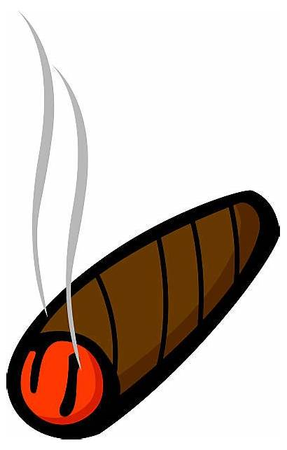 Cigar Clipart Encendido Lit Cigarro Clipground Premium