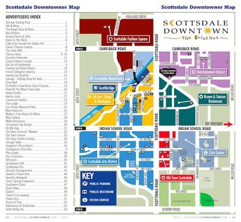 fashion square scottsdale map