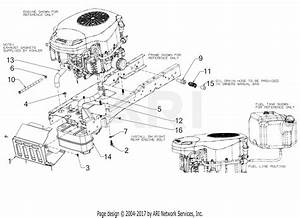 Troy Bilt Super Bronco 50  13aqa2kq011   2016  Parts Diagram For Engine Accessories