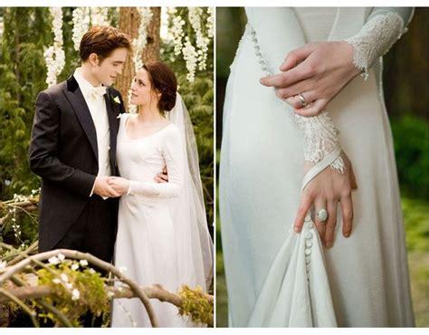 em detalhes  vestido de noiva de bella swan da saga