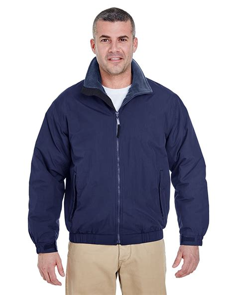 ultraclub weather jacket adventure adult navy mens allweather jackets deals cheap apparelnbags gotapparel