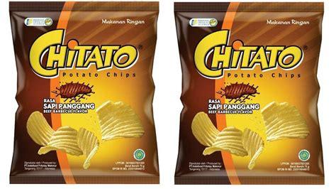 chitato s chitato sapi panggang beef barbeque 75gr paket isi 2