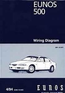 Mazda Eunos 500 Ca 04  1994 Factory Wiring Diagram Manual