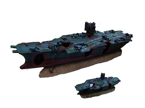 Large Shipwreck Aquarium Decorations by Ship Rubber Picture More Detailed Picture About Large