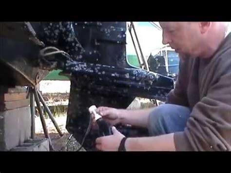 winterize change  unit outdrive gear lube