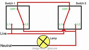 Wiring 2  Switch 1 Way Popular Two  Switching Explained