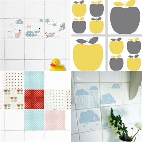 Badezimmer Fliesen Bekleben by Decals For Tiles Idea For Covering Up Bathroom Tile