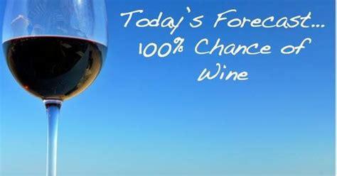 todays forecast  chance  wine   monday