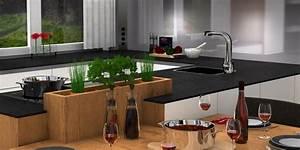 Laminatboden In Der Küche : der kr utergarten in der k che dank chen studio leonding ~ Lizthompson.info Haus und Dekorationen