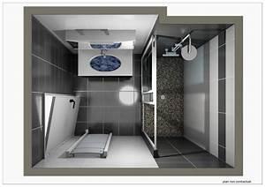 Plan 3d Salle De Bain : plan en 3d salle de bains ~ Melissatoandfro.com Idées de Décoration