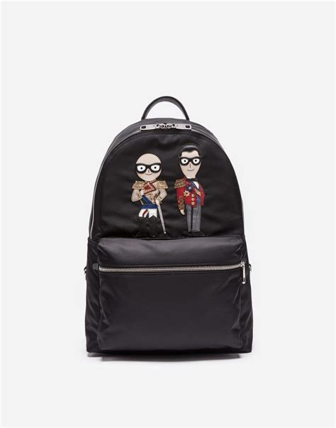 03785a14af0f4 Vulcano Backpack With Patches - Men Dolce Gabbana
