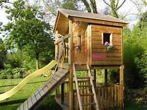 die besten 17 ideen zu spielturm selber bauen auf With französischer balkon mit spielhaus garten holz selber bauen
