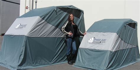 Speedway Motorcycle Cover Shelters