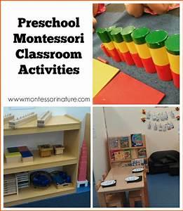 Preschool Montessori Classroom Activities