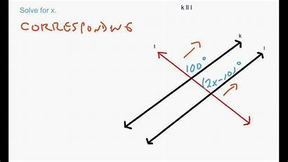 Parallel Lines Transversal Cut Problems Solving Involving