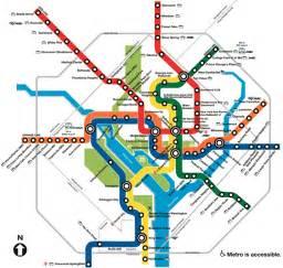 Metro Light Rail Hours by Map Of Dc Metro