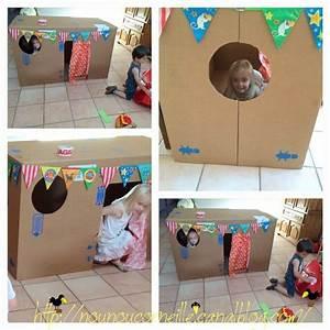 Cabane En Carton À Colorier : cabane en carton r cup maison en carton kids rugs diy et home decor ~ Melissatoandfro.com Idées de Décoration