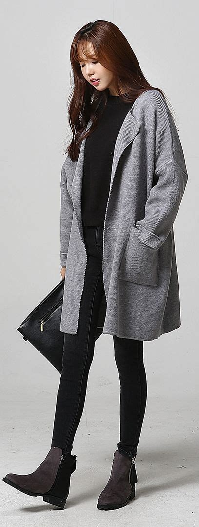 Asian Women Wholesale | Itsmestyle F/W 2016 | Pinterest | Asian woman Grey and Jackets