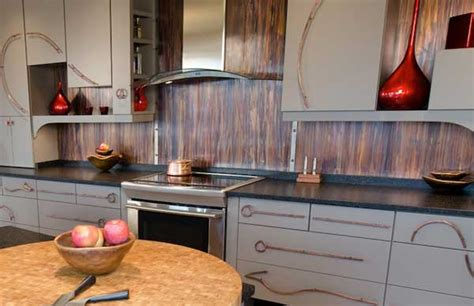 backsplash ideas for kitchens inexpensive top 30 creative and unique kitchen backsplash ideas