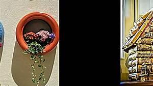 Sachen Selber Machen : 25 coole recycling ideen aus alten sachen m bel und deko selber machen youtube ~ Watch28wear.com Haus und Dekorationen