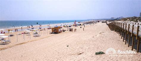 Praia Monte Gordo Algarve Portugal