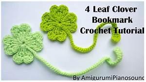 Shamrock Four Leaf Clover Crochet Tutorial  With Narration