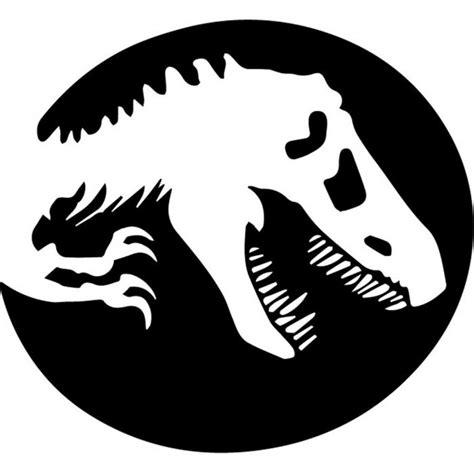 rex shadow jurassic park dinosaur wall sticker