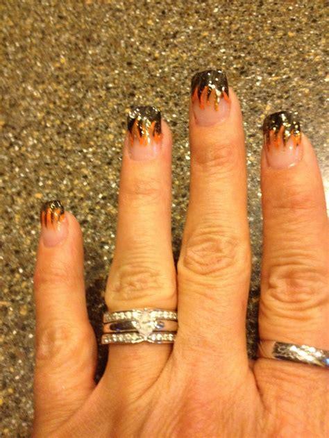 ultra cool harley davidson nail designs pretty designs