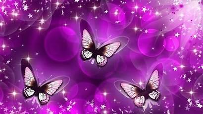 Butterfly Purple Backgrounds Background Pink Wallpapers Lockscreen