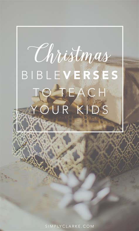 christmas bible verses  teach  kids simply clarke