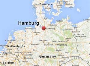 Hamburg Germany Europe Map