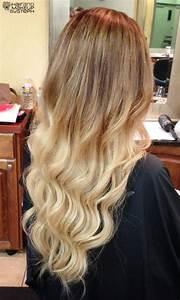 Ombré Hair Blond Foncé : 112 best ombre hair style images on pinterest long hair gorgeous hair and hair colors ~ Nature-et-papiers.com Idées de Décoration