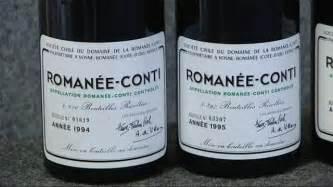 fausses bouteilles de 233 e conti le prestigieux domaine demande 500 000 euros de dommages